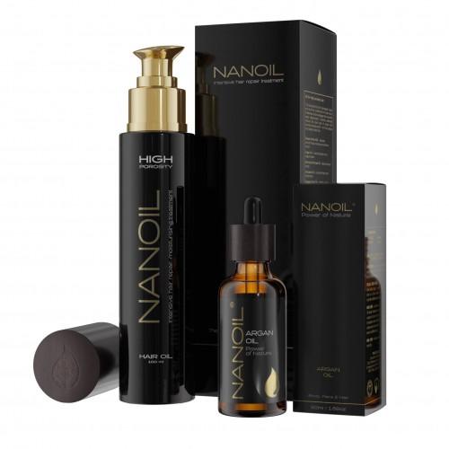 Olejki do włosów Nanoil